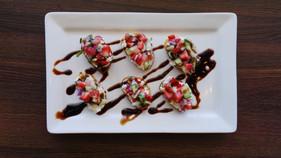 Strawberry Basil Brushetta