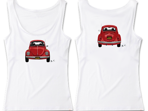 Beetle Women's Tank / Front and Back Print