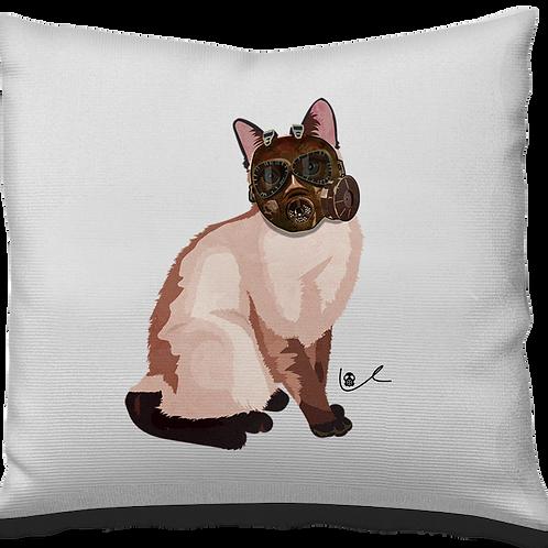 'Portrait of Laila / Apocalypto' Pillow