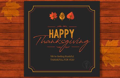 Thanksgiving Instagram Image