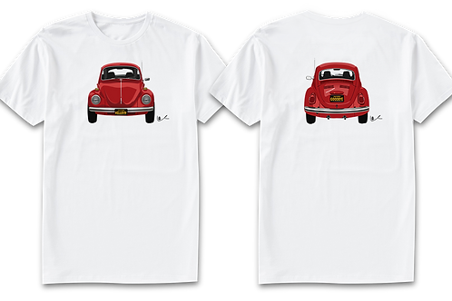 VW Beetle Men's T-Shirt / Front and Back Print