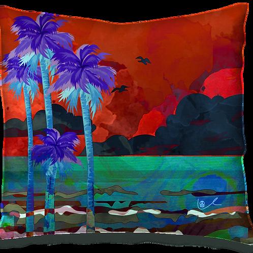 'Tropical Storm' Pillow
