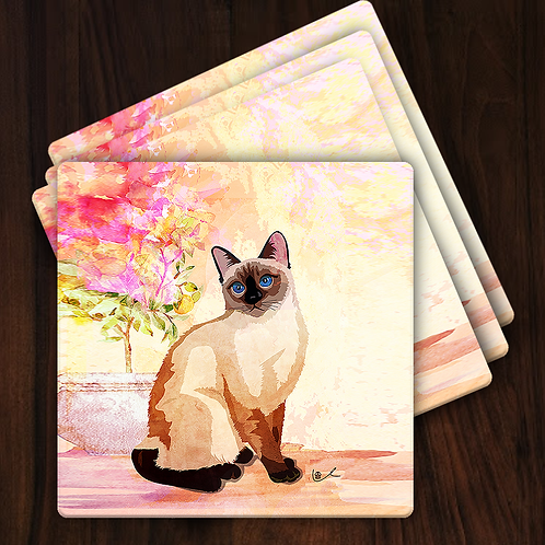 'Portrait of Laila / Just Laila' Gift Coasters