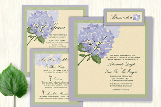 Hydrangea Wedding Suite