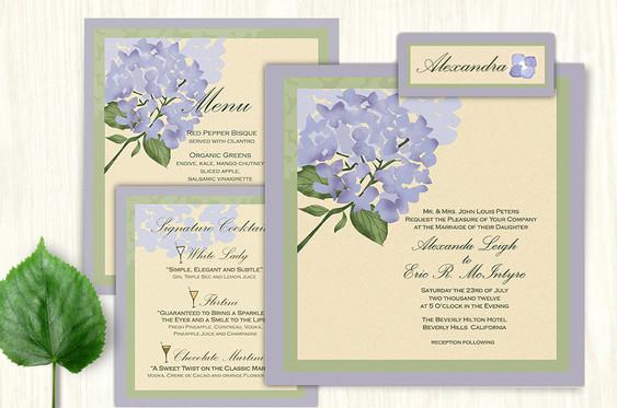 Hydrangea Wedding Suite