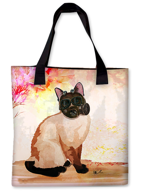 'Portrait of Layla / Tales of Apocalypto' Canvas Tote
