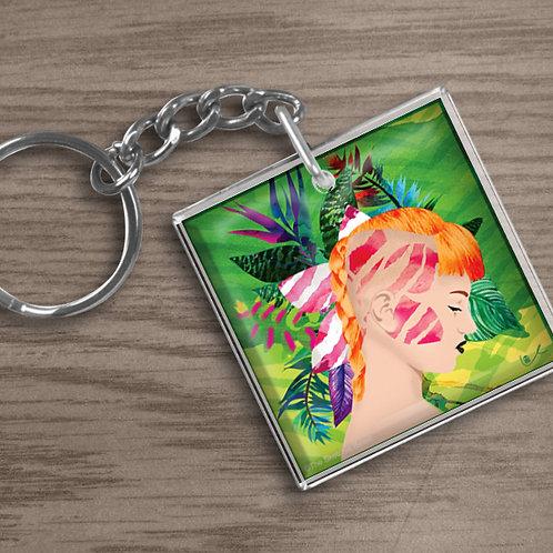 'Tiger Lily' Keychain