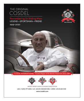 Stirling Moss Tribute Ad