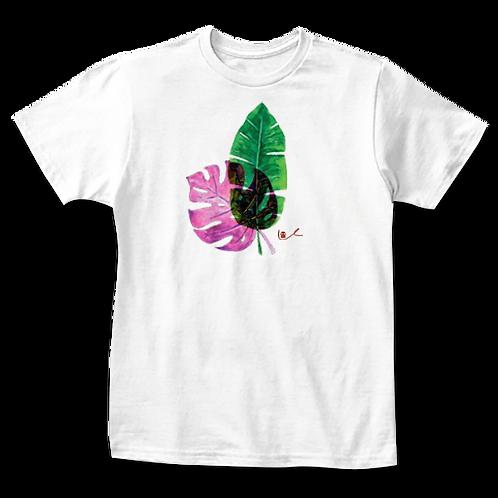 'Tropical Leaves' Kids T-Shirt