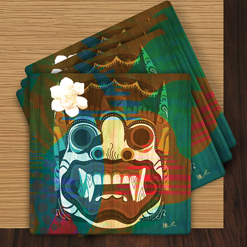 'Lotus Eater / Exotic' Coasters