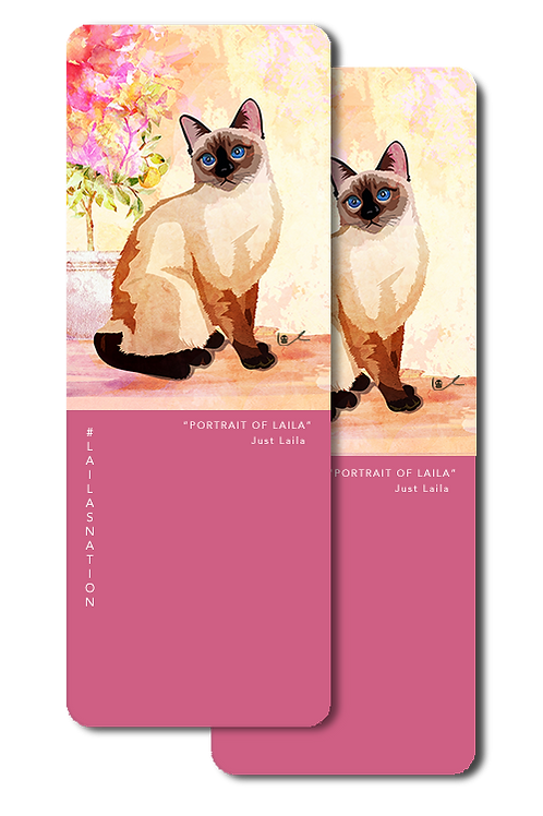 'Portrait of Laila / Just Laila' Bookmarks