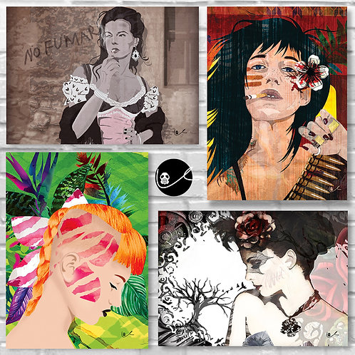 Fabulous 4 Pack / 'Fabulous Femmes'