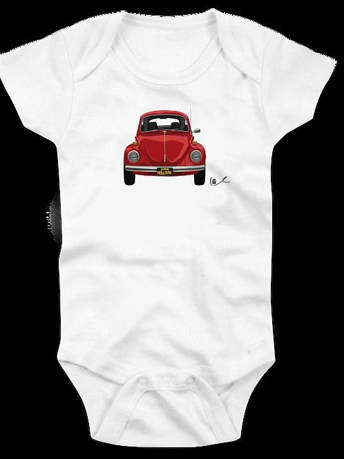 VW Beetle Baby Onesie