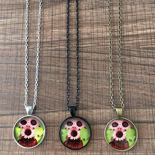 'A Happy Threesome' Necklace