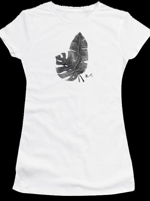 'Tropical Leaves' Womens T-Shirt