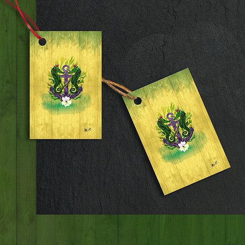 'Sovereign Seashorses' Gift Tags / 12pcs