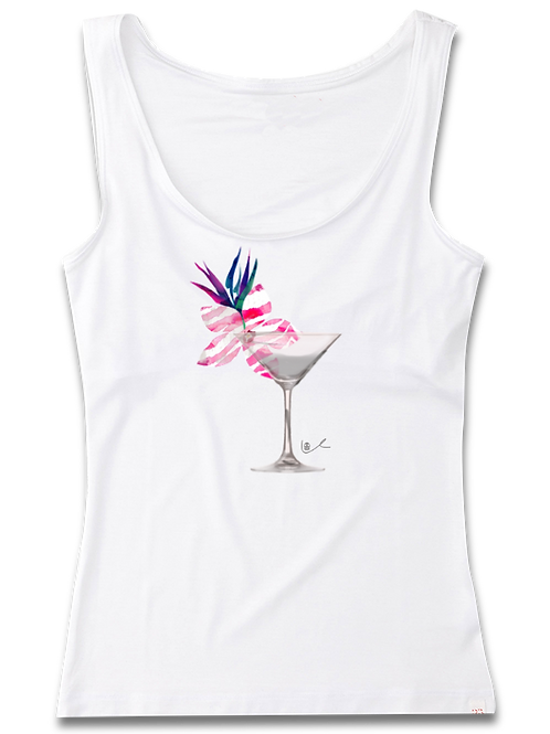 'Cosmo in Paradise' Womens Tank