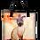 Thumbnail: 'Portrait of Layla / Glam Grrrl' Canvas Tote