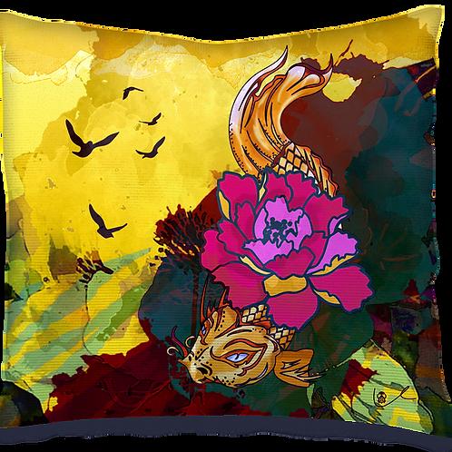 'Much Koi' Pillow