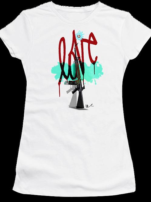 'Love To War' Womens T-Shirt
