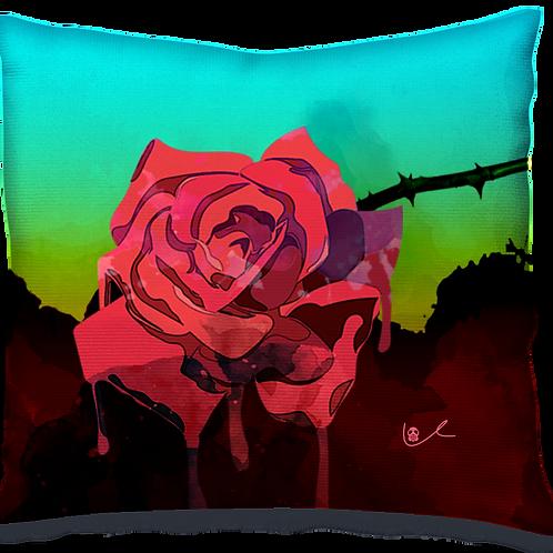 'Weeping Rose' Pillow
