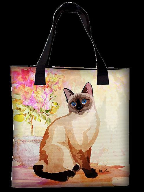 'Portrait of Laila / Just Laila' Canvas Tote