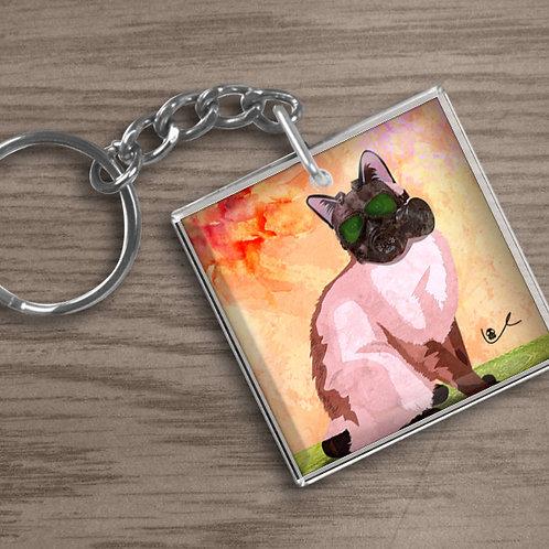 'Portrait of Layla' Keychain