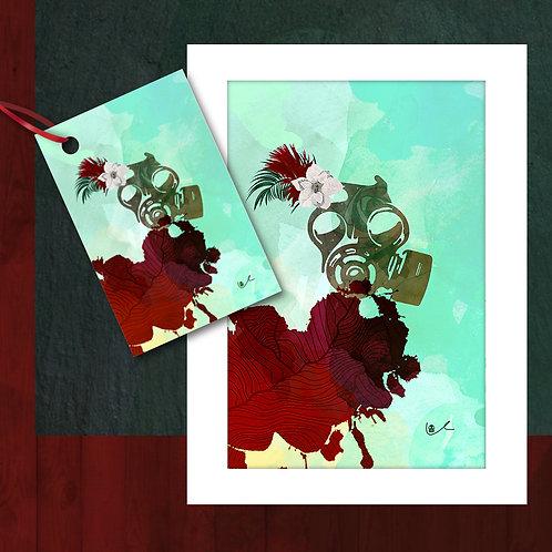 'A 2020 Christmas' Card + Tag Bundle / 24pcs