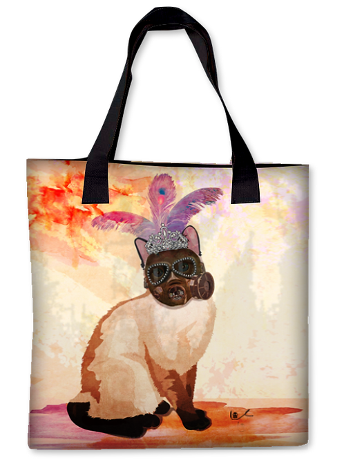 'Portrait of Layla / Apocalyptic Glam' Canvas Tote