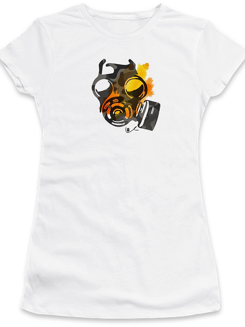 'Beauty Mask' Womens T-Shirt