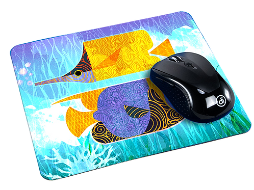 'Crazy Fish' Mousepad