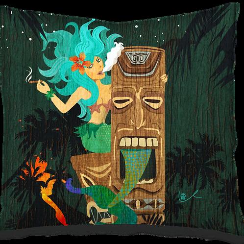 'A Tiki's Taile' Pillow