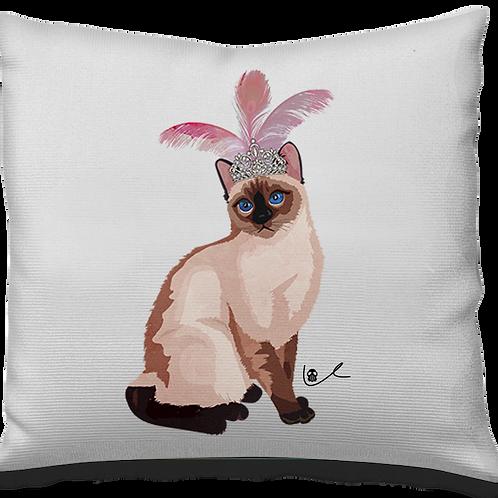 'Portrait of Laila / Glam Grrrl' Pillow