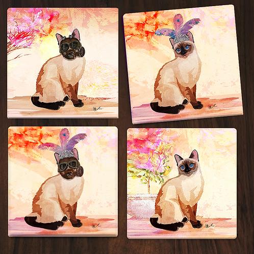 'Laila's Nation' Gift Coasters