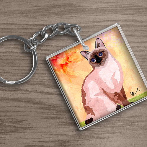 'Just Layla' Keychain