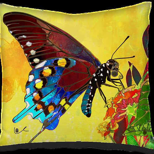 'Acid Wash Spring c2030' Pillow