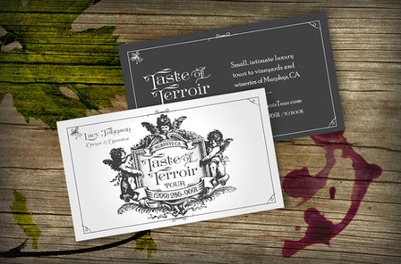 Taste of Terroir Logo + Card
