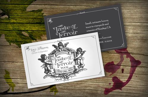 Taste of Terroir Logo + Card