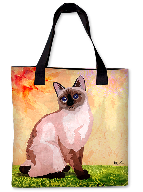 'Just Layla' Canvas Tote