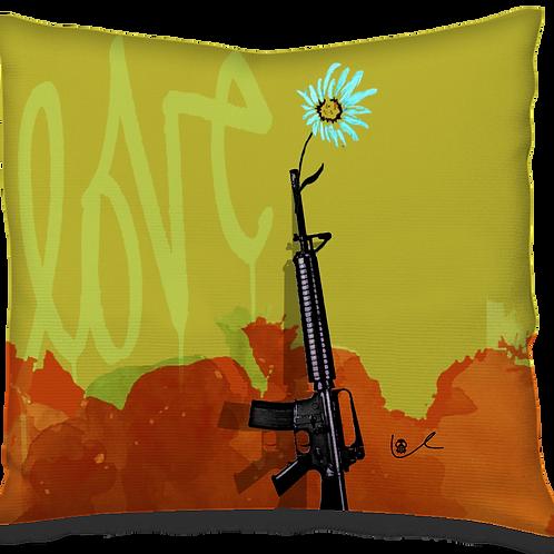 'Love to War' Pillow