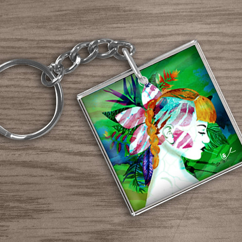 'Tiger Lily' Keychain