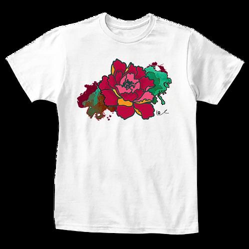 'California Peony' Kids T-Shirt
