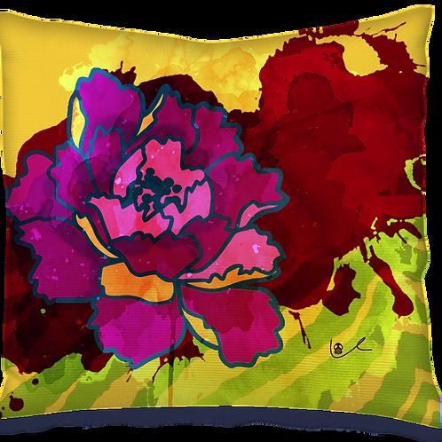 'California Peony' Pillow
