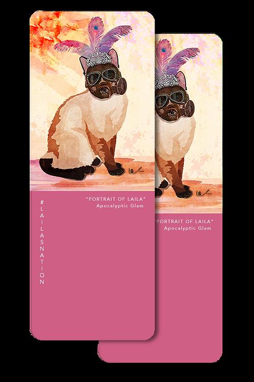 'Portrait of Laila / Apocalyptic Glam' Bookmarks