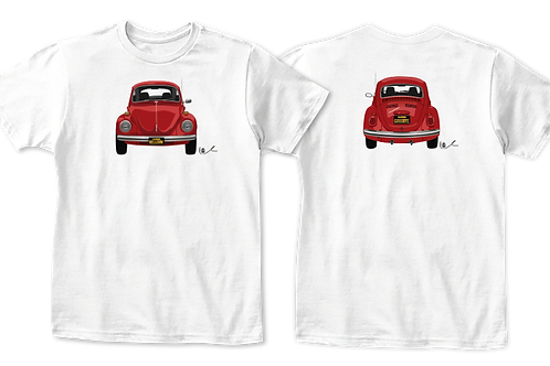 VW Beetle Kids T-Shirt / Front and Back Print