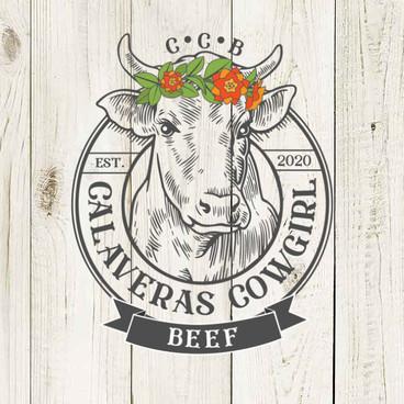 Calaveras Cowgirl Beef Logo