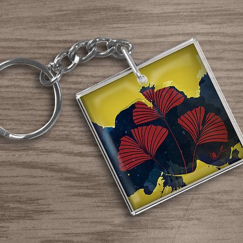 'Ginkgo Bold' Keychain