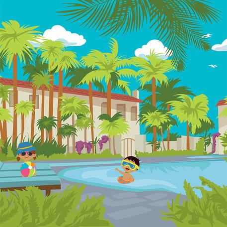 Four Seasons Jungle Pool