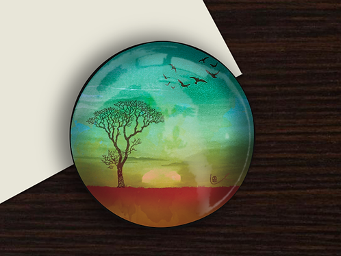 'I Bless the Plains' Paperweight