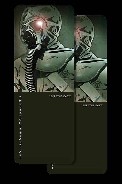 'Breathe Easy' Bookmark